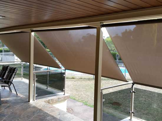 Cafe blinds sun shade campbell blinds and awnings