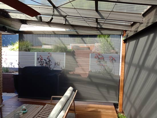 Xtrack Track Guided Outdoor Blinds Croydon South